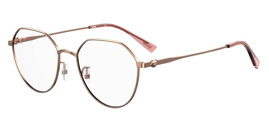 Moschino MOS 564/F Women's Glasses Gold