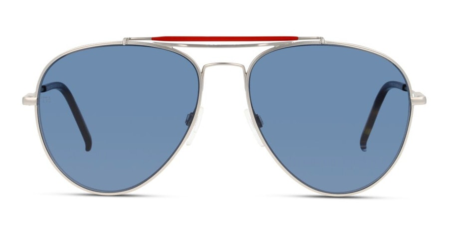 Tommy Hilfiger TH 1709/S (CTL) Sunglasses Blue / Silver