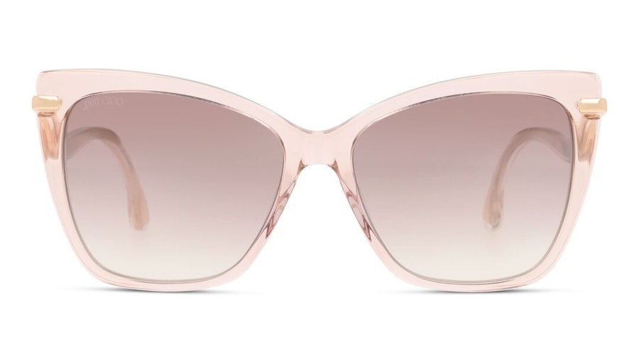 Jimmy Choo Selby Women's Sunglasses Brown / Pink