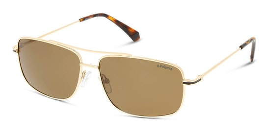 PLD 6107/S/X Men's Sunglasses Bronze / Gold