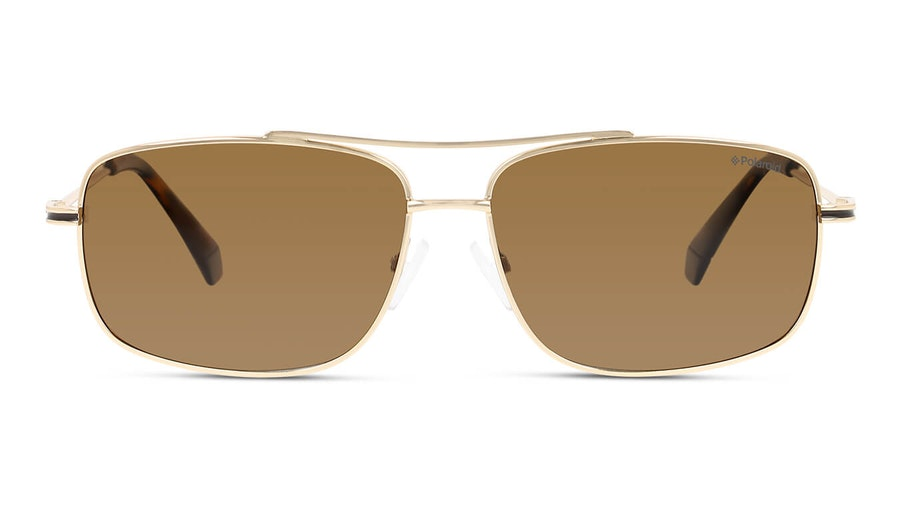 Polaroid PLD 6107/S/X (J5G) Sunglasses Bronze / Gold