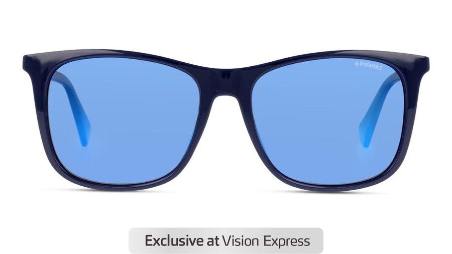 Polaroid PLD 6103/S Men's Sunglasses Blue / Navy