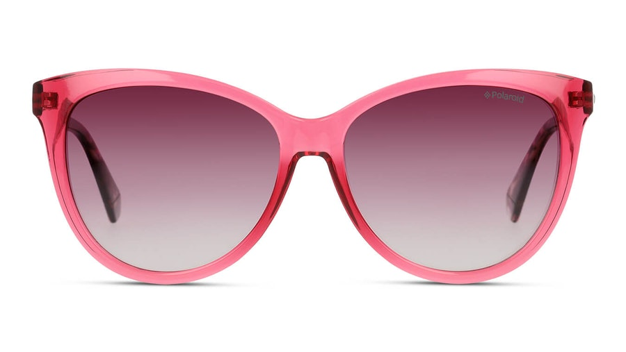 Polaroid PLD 6104/S/X Women's Sunglasses Burgundy/Red