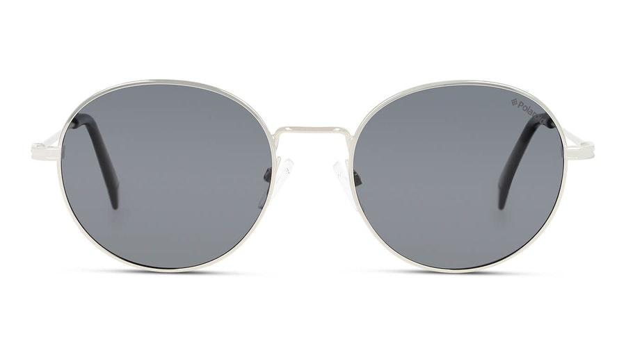 Polaroid PLD 6105/S/X (010) Sunglasses Grey / Silver