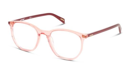 LV 1002 Women's Glasses Transparent / Pink