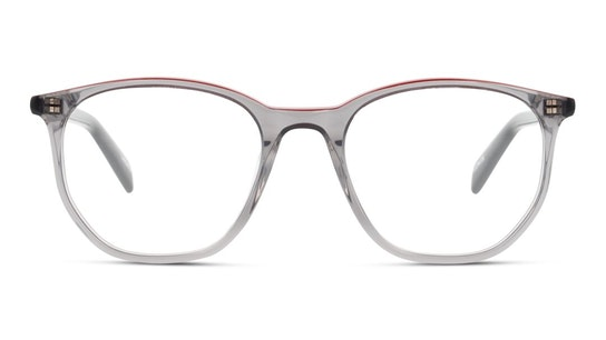 LV 1002 Men's Glasses Transparent / Grey