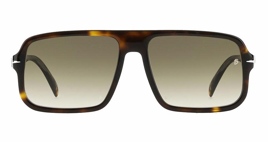 David Beckham Eyewear DB 7007/S (086) Sunglasses Brown / Tortoise Shell