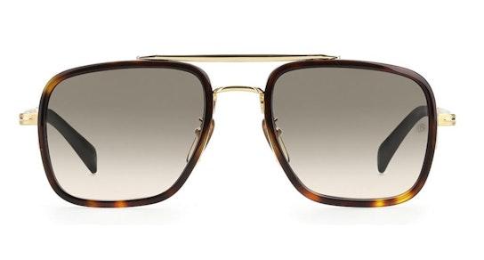 DB 7002/S Men's Sunglasses green / Tortoise Shell