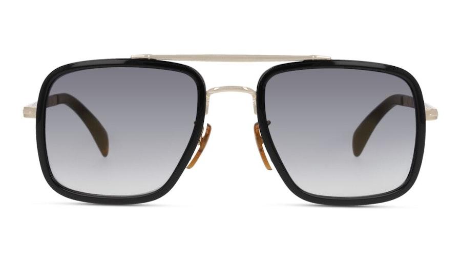 David Beckham Eyewear DB 7002/S Men's Sunglasses Grey / Black