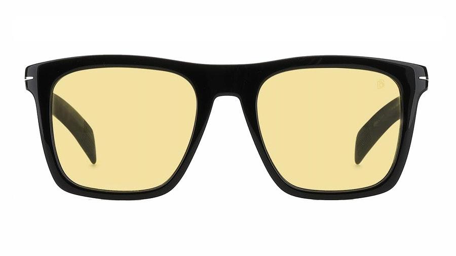 David Beckham Eyewear DB 7000/S Men's Sunglasses Yellow / Black