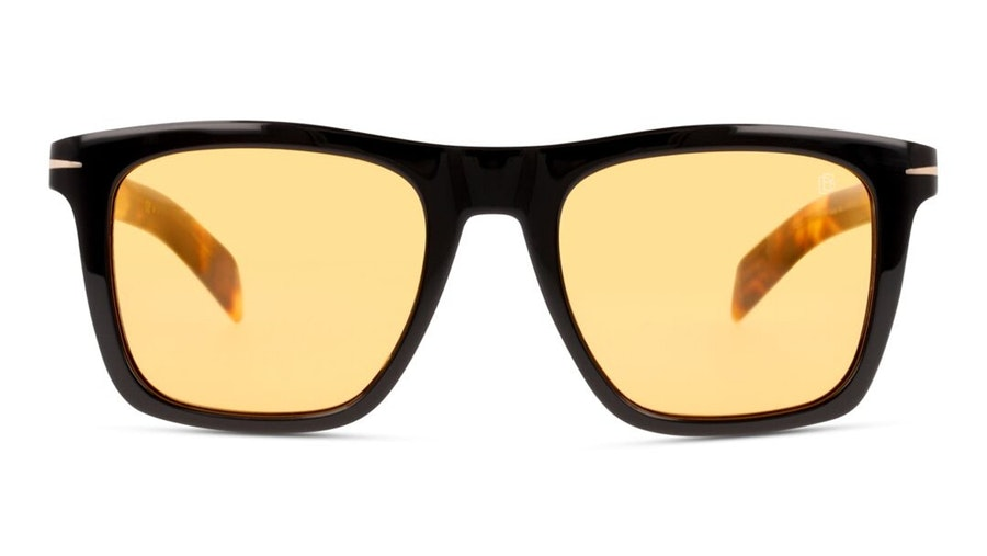 David Beckham Eyewear DB 7000/S Men's Sunglasses Orange / Black