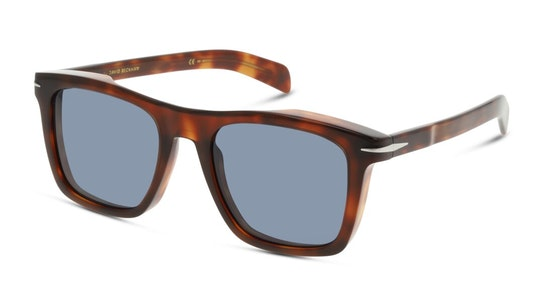 DB 7000/S Men's Sunglasses Blue / Tortoise Shell