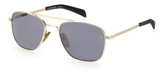 DB 7019/S Men's Sunglasses Grey / Gold