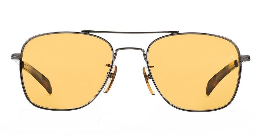David Beckham Eyewear DB 7019/S Men's Sunglasses Orange / Silver