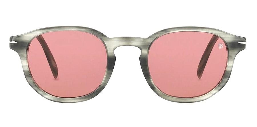 David Beckham Eyewear DB 1007/S Men's Sunglasses Burgundy / Grey