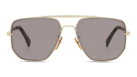 DB 7001/S Men's Sunglasses Grey / Gold