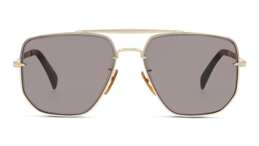 David Beckham Eyewear DB 7001/S (J5G) Sunglasses Grey / Gold