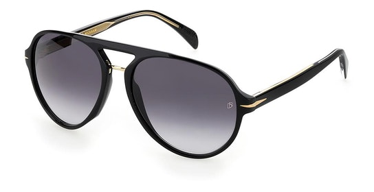DB 7005/S Men's Sunglasses Grey / Black