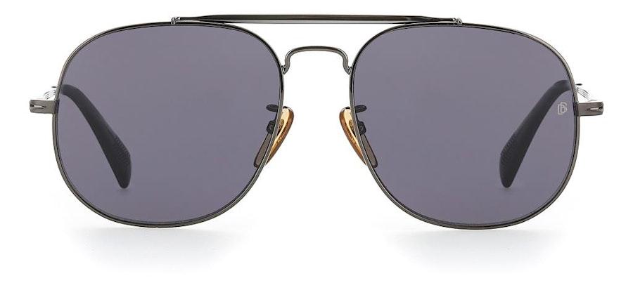 David Beckham Eyewear DB 7004/S Men's Sunglasses Grey / Grey