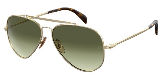 DB 1004/S Men's Sunglasses Grey / Gold