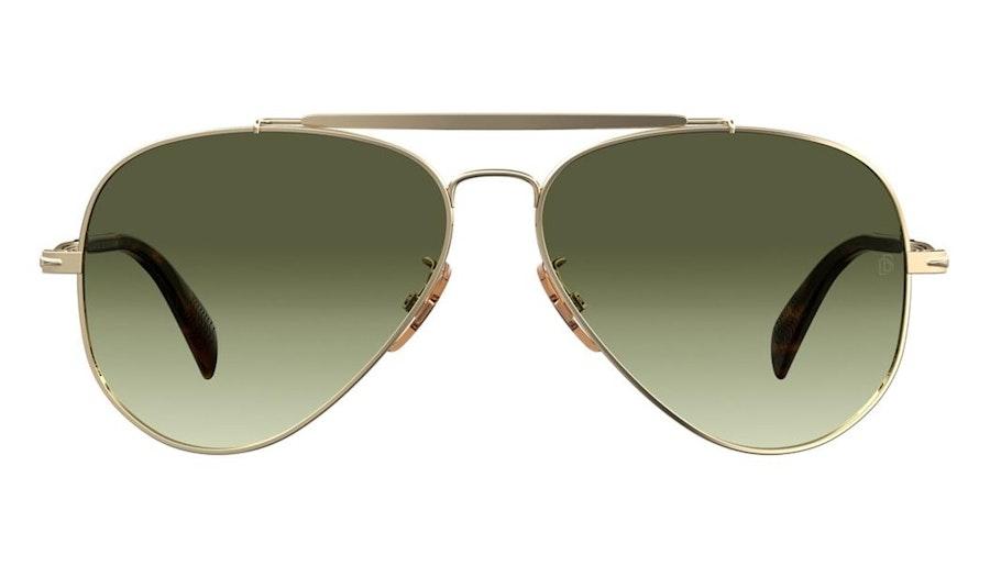 David Beckham Eyewear DB 1004/S (J5G) Sunglasses Grey / Gold