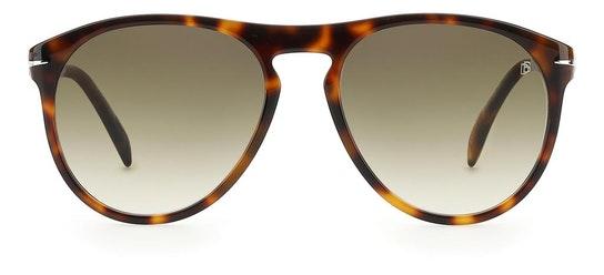 DB 1008/S Men's Sunglasses Green / Tortoise Shell