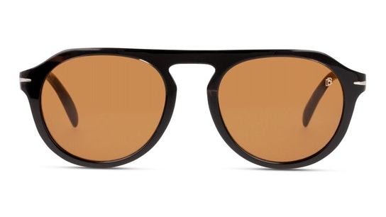 DB 7009/S Men's Sunglasses Brown / Grey