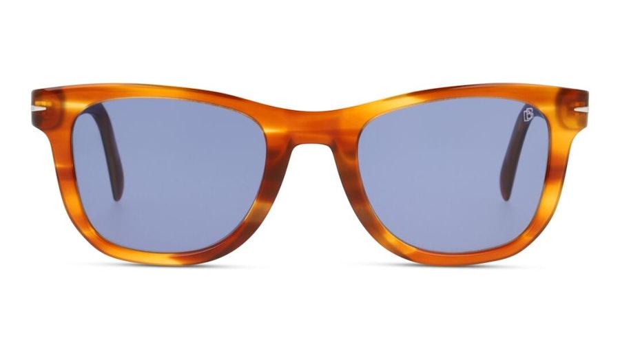 David Beckham Eyewear DB 1006/S (EX4) Sunglasses Blue / Brown