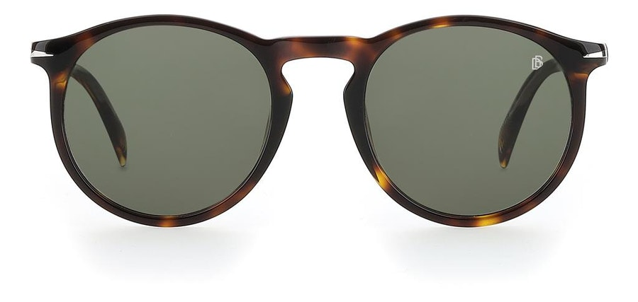David Beckham Eyewear DB 1009/S (086) Sunglasses Green / Tortoise Shell