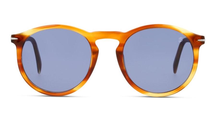 David Beckham Eyewear DB 1009/S (EX4) Sunglasses Blue / Tortoise Shell