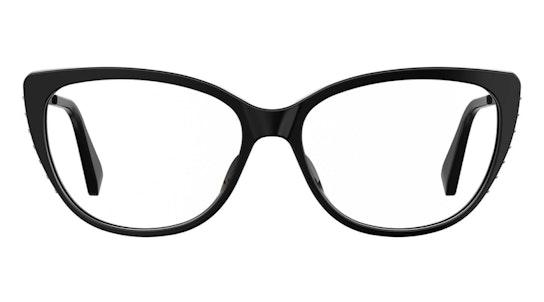 MOS 571 Women's Glasses Transparent / Black