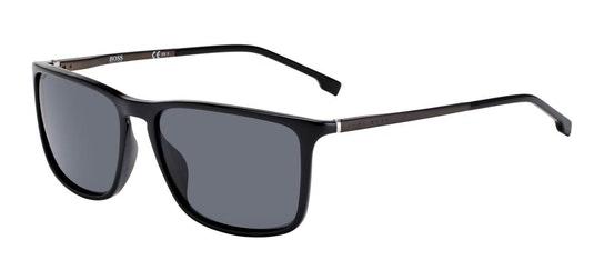 BOSS 1182/S Men's Sunglasses Grey / Black