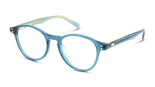 LV 5013 Men's Glasses Transparent / Blue