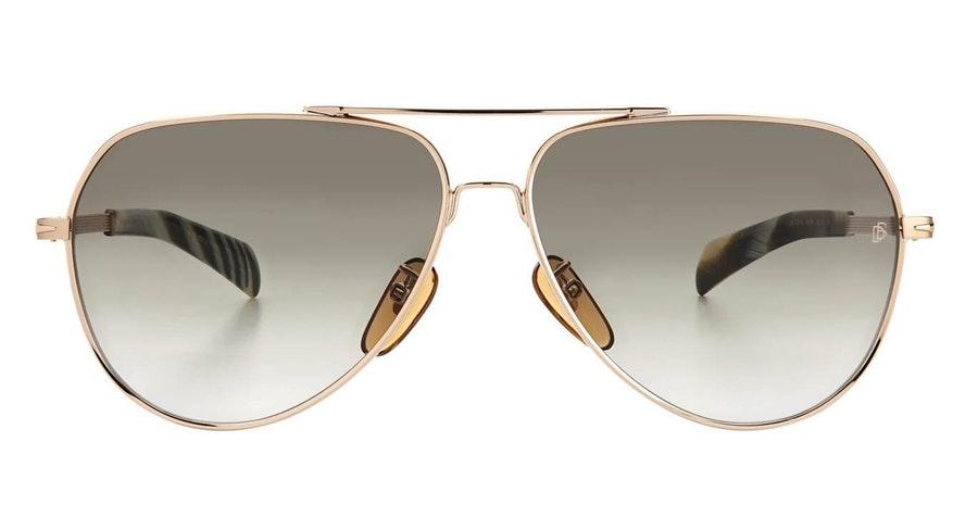 David Beckham Eyewear DB 7031/S Men's Sunglasses Green / Gold