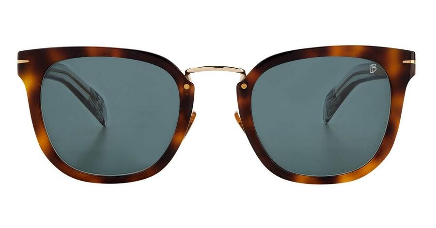 David Beckham Eyewear DB 7038/G/S (ACI) Sunglasses Green / Grey
