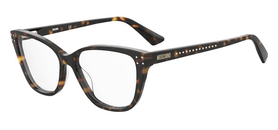 Moschino MOS 583 Women's Glasses Tortoise Shell