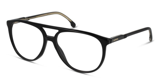CA 1124 Men's Glasses Transparent / Black