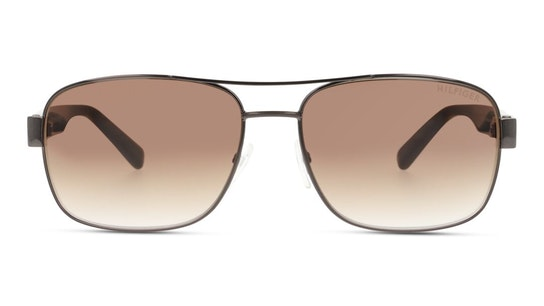 Bio-Based TH 1665/RE/S Men's Sunglasses Brown / Light Grey