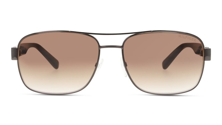 Tommy Hilfiger Bio-Based TH 1665/RE/S Men's Sunglasses Brown / Light Grey