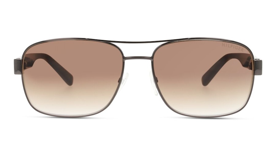 Tommy Hilfiger TH 1665/RE/S Men's Sunglasses Brown/Light Grey