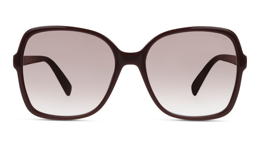 Tommy Hilfiger Bio-Based TH 1857/RE/S Women's Sunglasses Pink / Burgundy