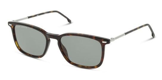 BOSS 1308/S Men's Sunglasses Green / Tortoise Shell