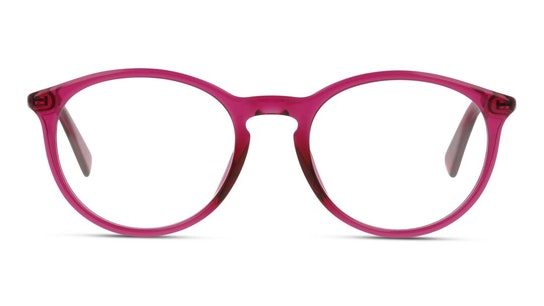 Bio-Based TH 1613/RE Women's Glasses Transparent / Pink