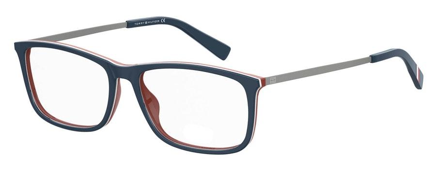 Tommy Hilfiger Bio-Based TH 1614/RE Men's Glasses Blue