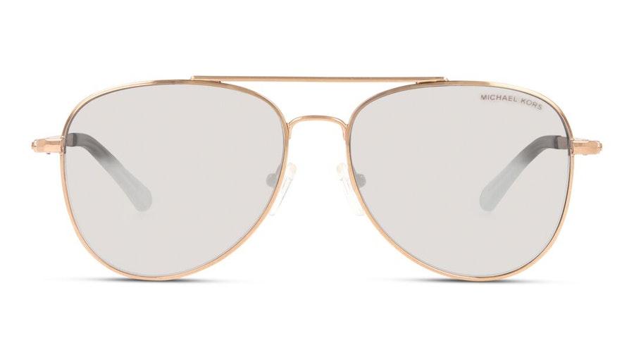 Michael Kors MK 1045 Women's Sunglasses Grey / Rose Gold