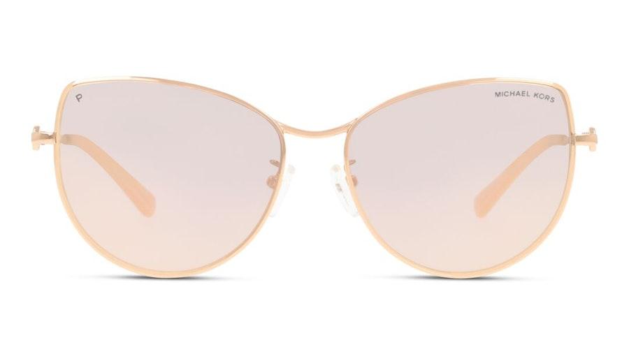 Michael Kors MK 1062 (1108M5) Sunglasses Grey / Rose Gold