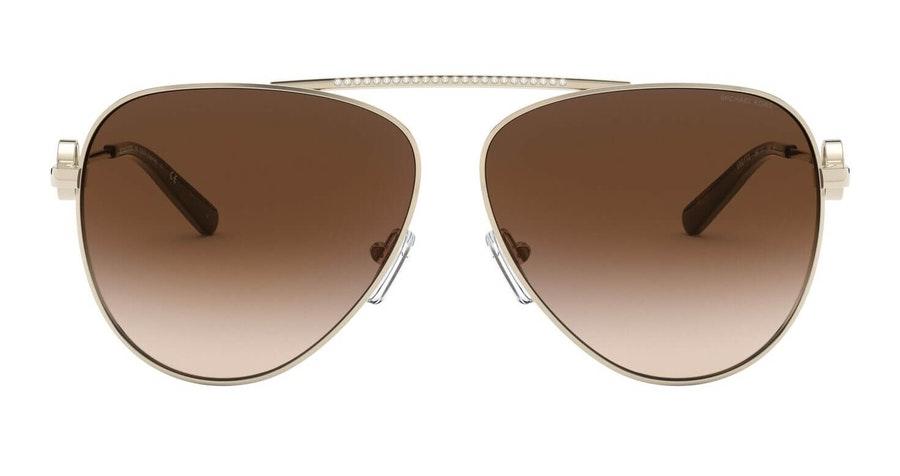 Michael Kors Salina MK 1066B Women's Sunglasses Grey / Gold