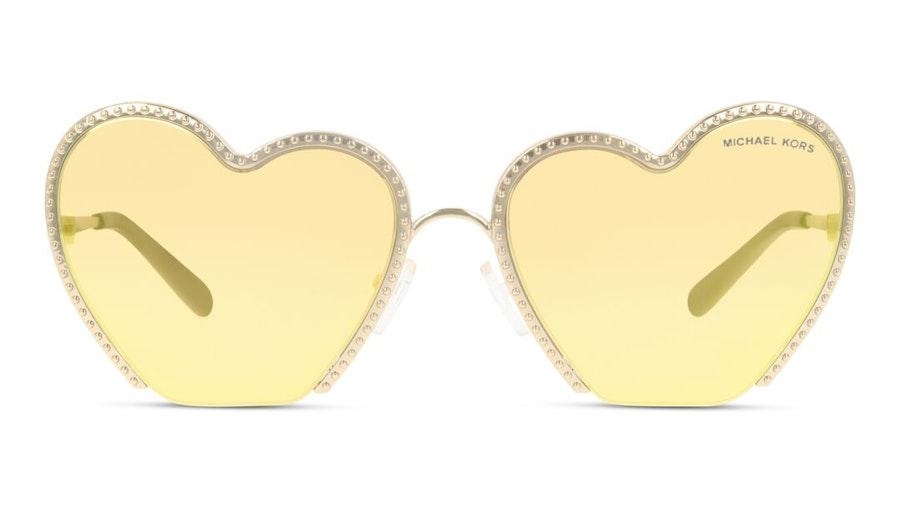 Michael Kors MK 1068 Women's Sunglasses Gold / Gold