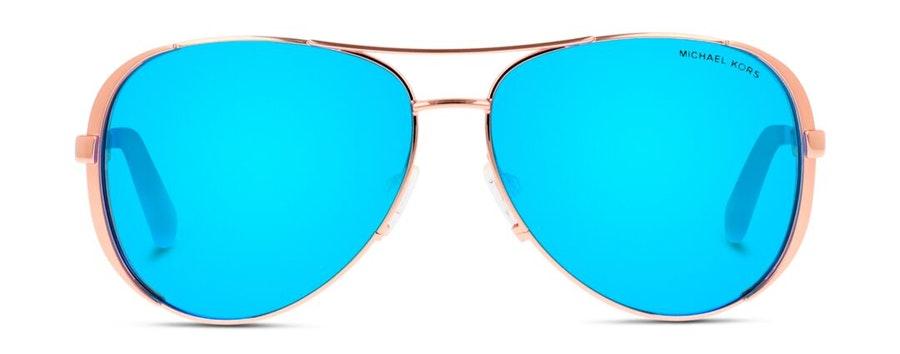 Michael Kors MK 5004 Women's Sunglasses Brown / Gold