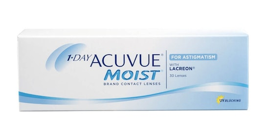 Acuvue Moist with LACREON (1 day toric for astigmatism)